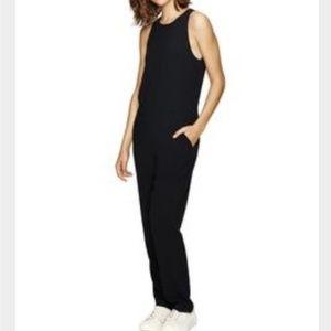Aritzia Babaton Branson Black Jumpsuit